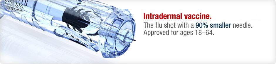 intradermal flu vaccine